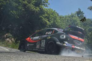 Elwis Chentre, Fulvio Florean (Ford Focus Rs WRC)